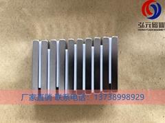 直線電機磁鋼燒結釹鐵硼磁鐵