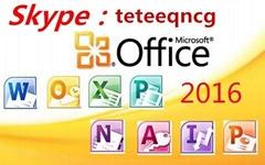 coa sticker office 2016 pro plus 5user new key   new pack