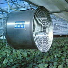 hanging fan for greenhouse venlitation