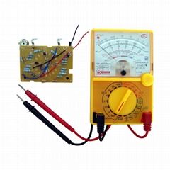 DIY MF360 Analog multimeter School Educational Student experiment ammeter voltme