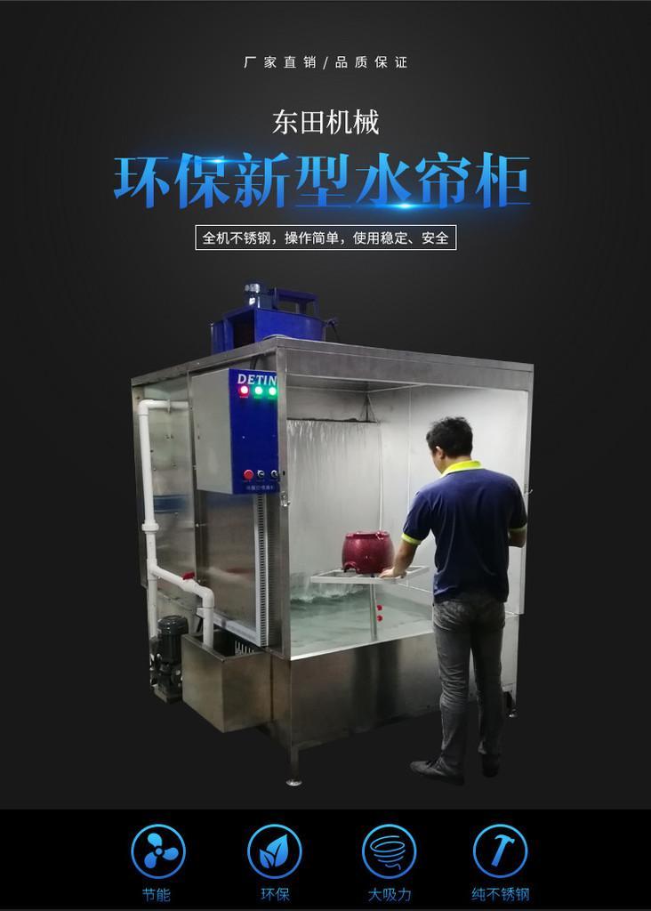 環保新型水帘櫃 1