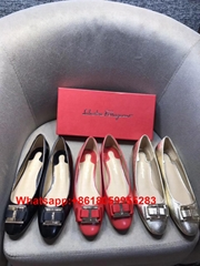 Newest Ferragamo High heels Ferragamo Leather Shoes Ferragamo Sandals Dress Shoe