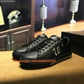 Newest 2019 PHILIPP PLEIN Sneakers Men PHILIPP PLEIN shoes 1:1 PP leather shoes