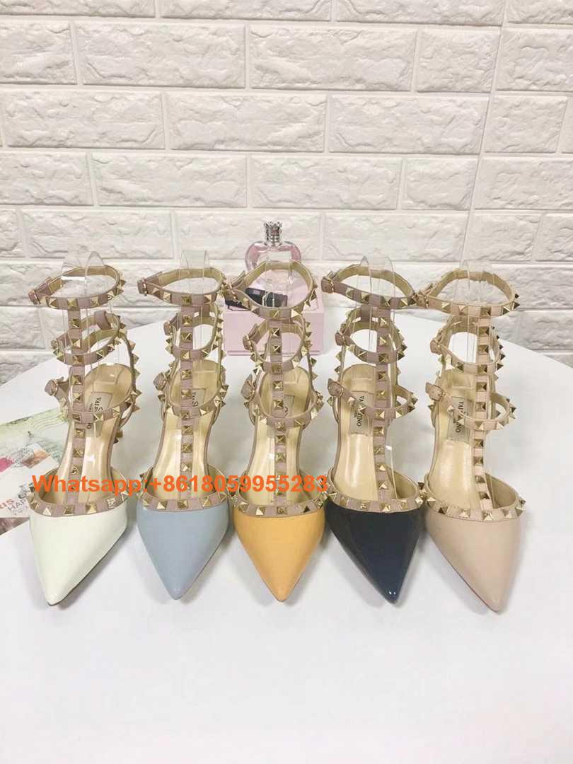 Evening Prom Valentino High heels Valentino Sandals Slippers Wedding Bridal Shoe