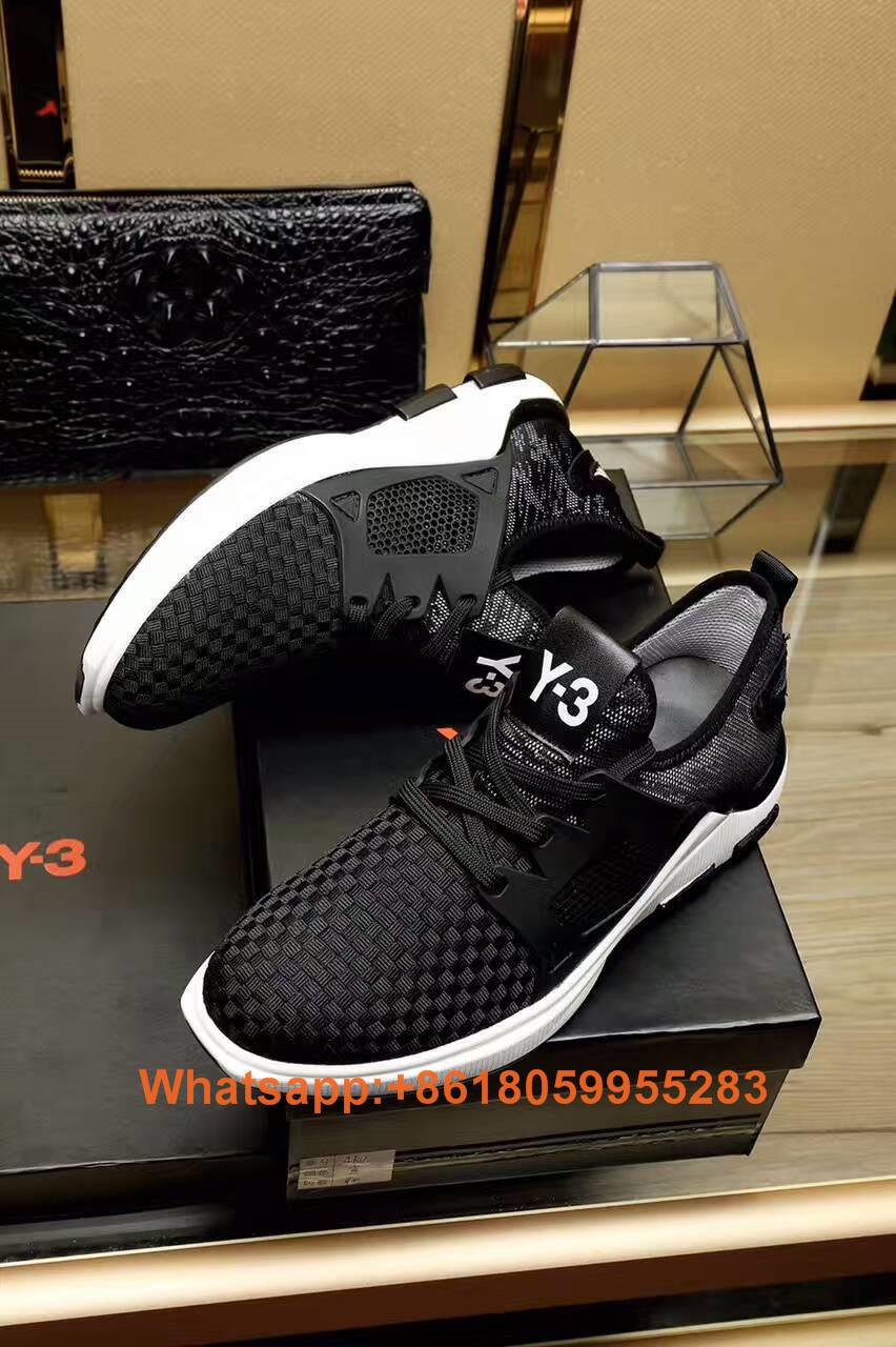 86e2d2073 ... Cheap Yohji Yamamoto shoes Y3 shoes men Y-3 Sneakers Party Leather  Casual Shoe