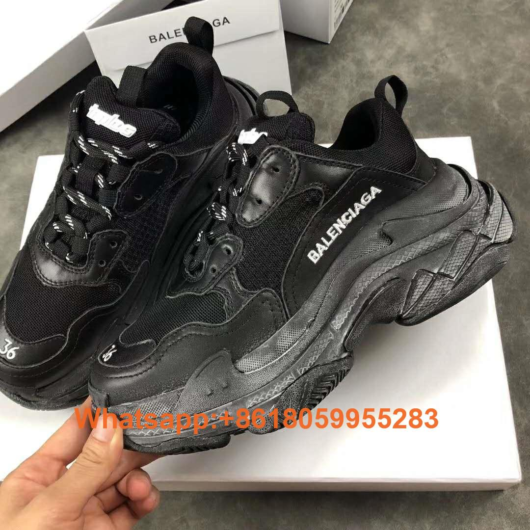 Balenciaga Triple S Sneakers Balenciaga Sneakers Party Leather Balenciaga shoe
