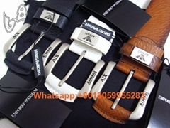 Wholesale 1:1 Armani belts men Armani real leather casual women belt top quality