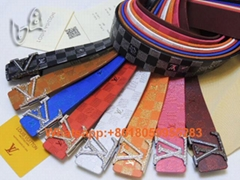 New Superme x LV Belts 1:1 Louis Vuitton belt women casual leather business Belt (Hot Product - 3*)