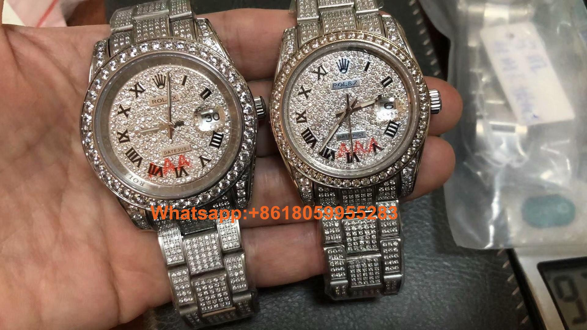 wholesale Rolex Watches 1:1 Swiss Made sapphire glass movement Replica Watches
