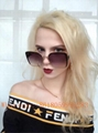 Wholesale New 1:1 Fendi sunglasses AAA quality women Fendi glasses original box