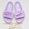 2019 Newest Puma slippers Rihanna Puma Popcat Swan Beach sandals slippers