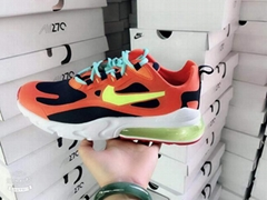 2019      Air Max 270 React shoes      270 v2 sneakers women men cushion shoes (Hot Product - 5*)