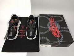 New Versace Chain Reaction Sneakers Versace Neoprene Cross Chainer trainer shoes