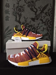 2019 Off-White adidas NMD Human race shoes adidas Originals Hu sneakers adidas shoes