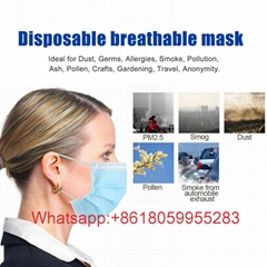 Disposable Masks 3-Ply Anti-Dust FFP3 KF94 N95 Masks Nonwoven Earloop Face Masks (Hot Product - 1*)