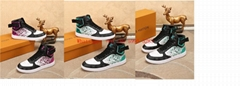 LOUIS VUITTON 2020 new LV men's sports casual shoes, LV high-top shoes, LV four