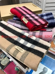 2020 Burberry new classic check cashmere scarf, ladies scarfadies scarf
