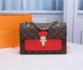 LV classic ladies shoulder bag handbag, LV second-hand bag