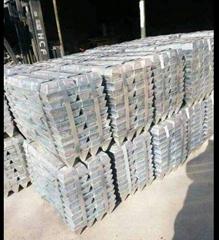 zinc ingots 99.99