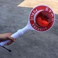 Police Boton Hand Held Stop Traffic Warning Sign Light 4