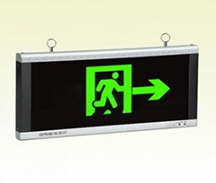 明装消防应急标志指示灯