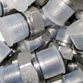 液压过渡接头直通英制外螺纹碳钢不锈钢可选 5