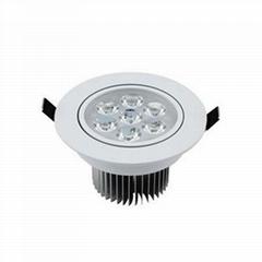 LED射燈酒店照明天花燈7w
