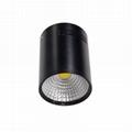 LED表面安装筒灯cob筒灯射