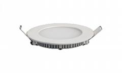 LED小面板灯圆形筒灯天花灯3w12w15w18w
