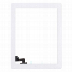 For IPad 2 Glass And Digitizer Touch Panel, White