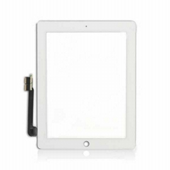 For IPad 3 Glass And Digitizer Touch Panel, White
