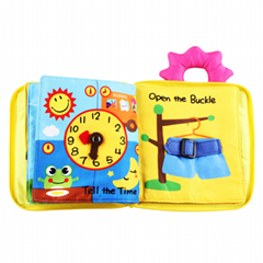 Baby Soft Cloth Book For