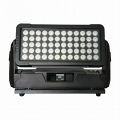 IP65 waterproof outdoor 60x10w rgbw 4in1 led wall washer wash light