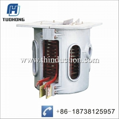 350KG steel iron Induction Metling Furnace