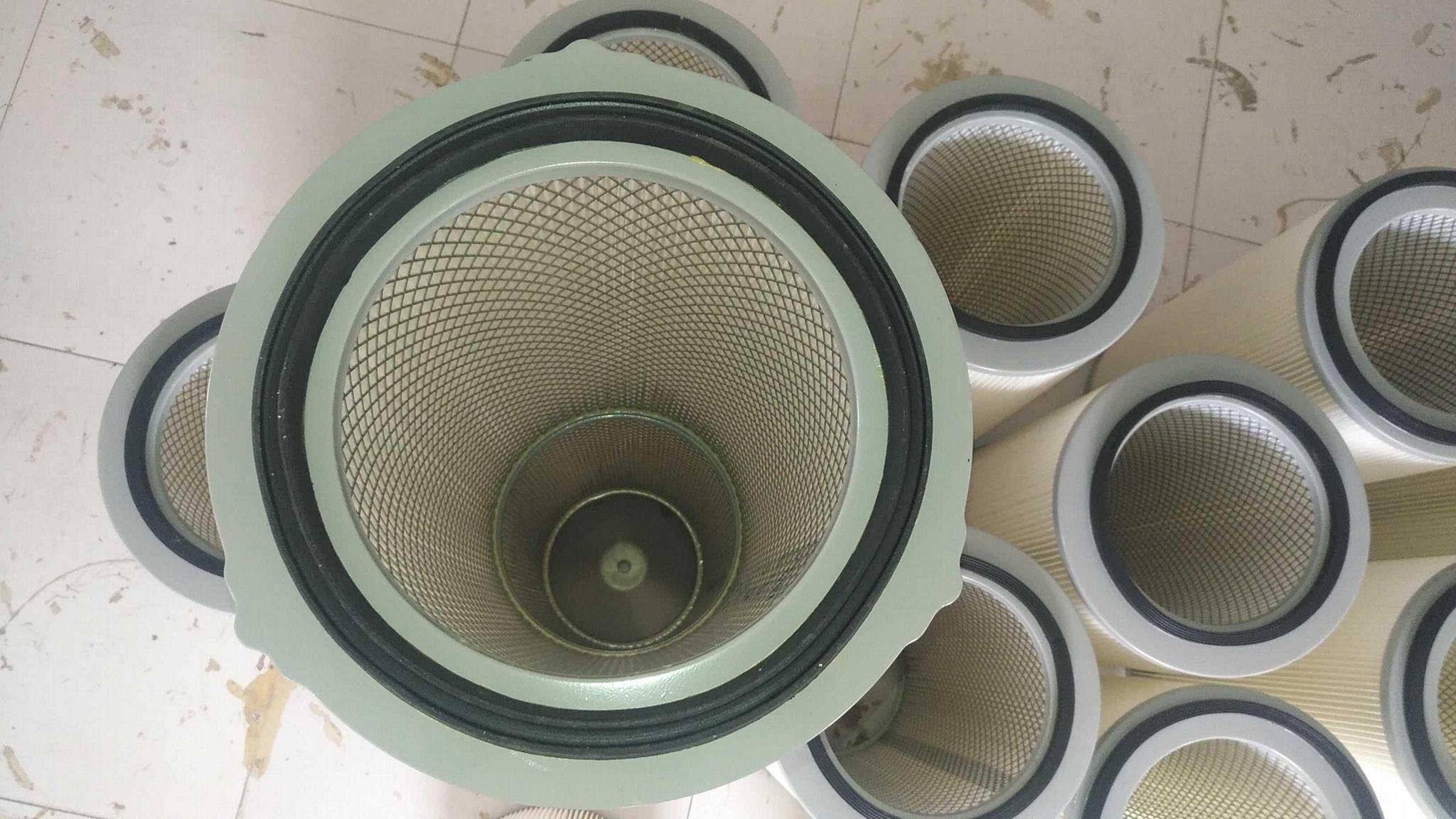 大旋风喷粉房专用滤筒梅花三耳式滤筒 3