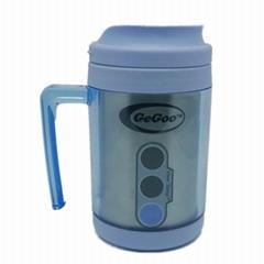 Manufacturer Cheap Stainless Steel Plastic Desktop Mug