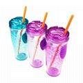 Wholesale SAN Plastic Inside Gel Drinks