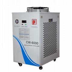 CW-6000 300W co2 激光水冷機