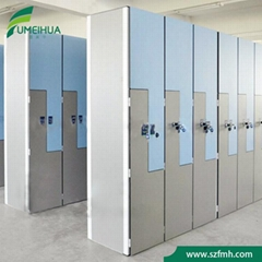 Gym Locker In Light Gery Color