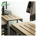 Wooden Color Compact Laminate Table