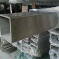 304不鏽鋼管方管8*8*0.6國標-拉絲 2