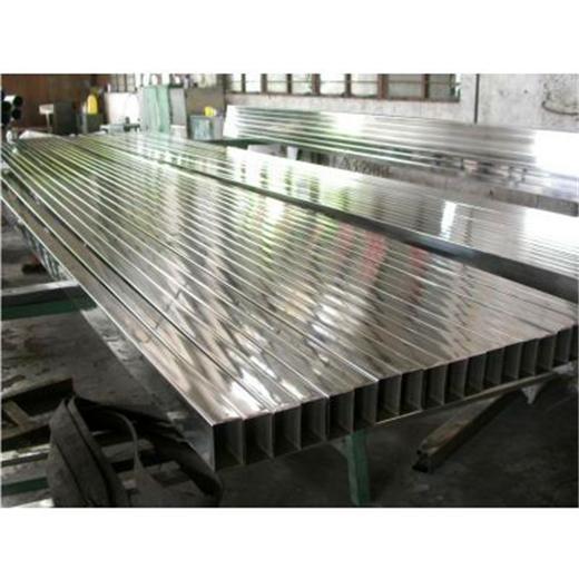 304不鏽鋼管方管8*8*0.6國標-拉絲 3