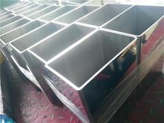 304/201/316不锈钢管方管方通100*100*3.0国标-拉丝
