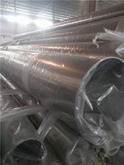 304/201/316L不锈钢管圆管Φ50*1.5国标-拉丝