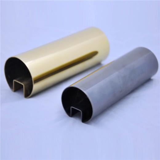 304/201/316L不鏽鋼管加工切割沖孔焊接表面處理22*22*1.2拉絲 1