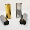 304/201/316L不鏽鋼管加工切割沖孔焊接表面處理22*22*1.2拉絲 2