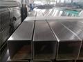 無錫304不鏽鋼管80*80*1.0方通拉絲 2