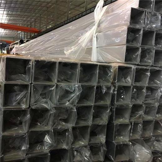 無錫304不鏽鋼管80*80*1.0方通拉絲 3