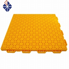 outdoor Volleyball suspended pp interlocking sport flooring