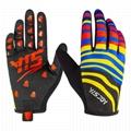 YISJOY custom MTB gloves cycling dirt bike racing motorcycle motocross gloves